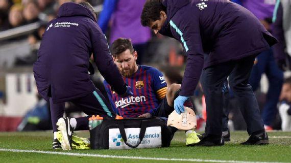 Barcelona prepara el Clásico ante el Real Madrid sin Messi
