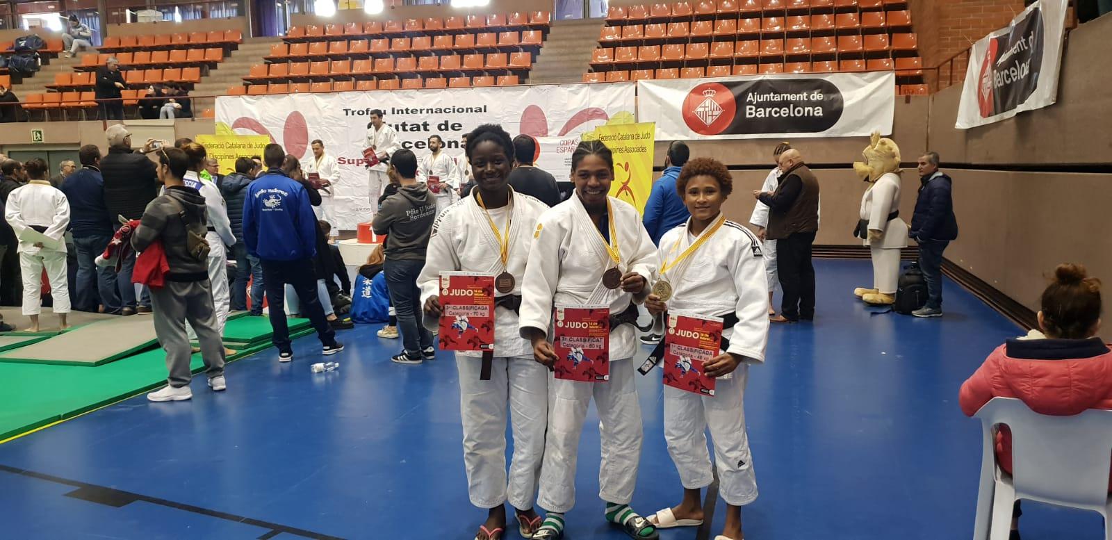 Estefanía, oro en Súper Copa España Senior de Judo Barcelona