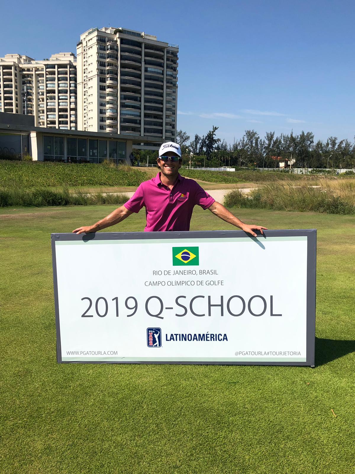 Willy Pumarol se gana status en el PGA Latinoamerica