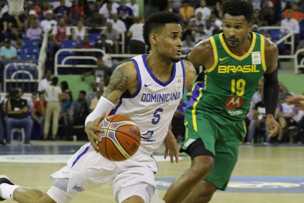 República Dominicana clasifica a su tercer mundial; cae ante Brasil