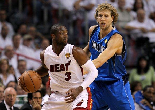 Wade y Nowitzki son convocados para el Juego de Estrellas de NBA