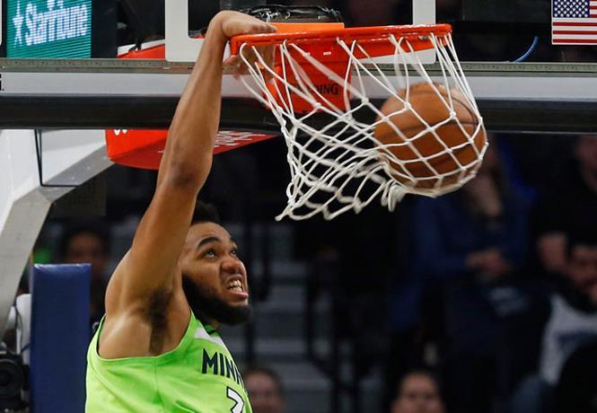 Doble-doble de Towns no evita derrota de Minnesota en la NBA