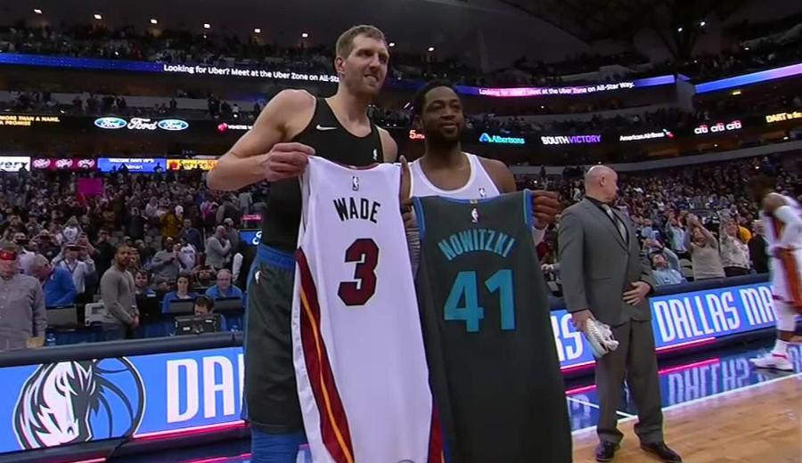 Nowitzki y Wade dejan detrás vieja rivalidad