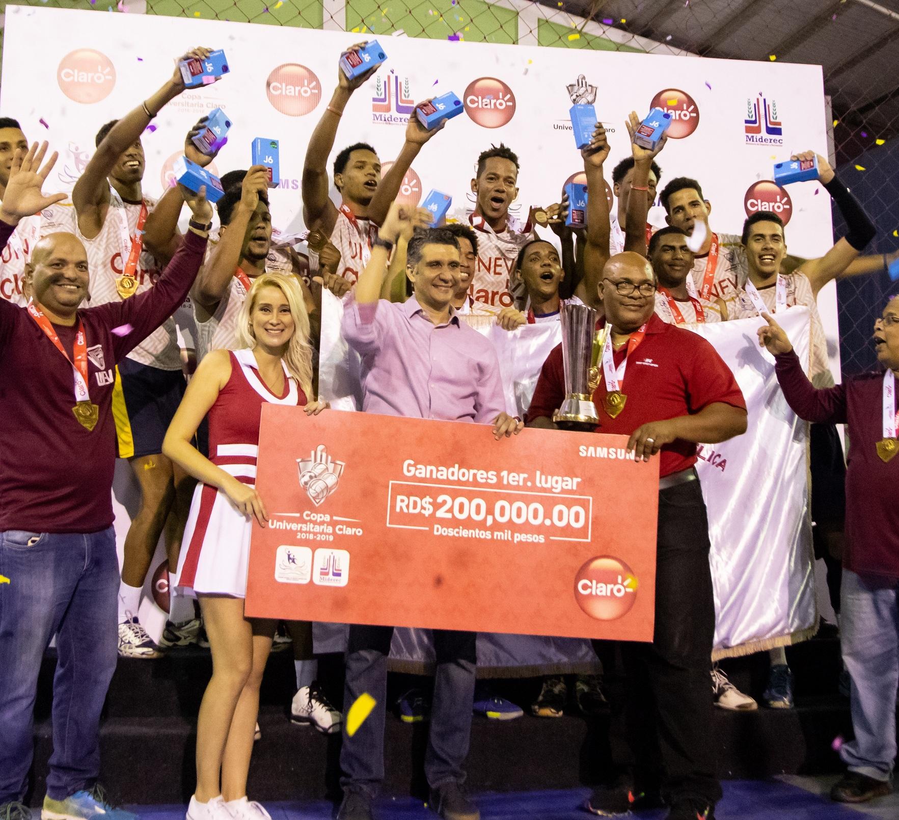 UNEV conquistó la corona masculina en la Copa Universitaria Claro de Voleibol
