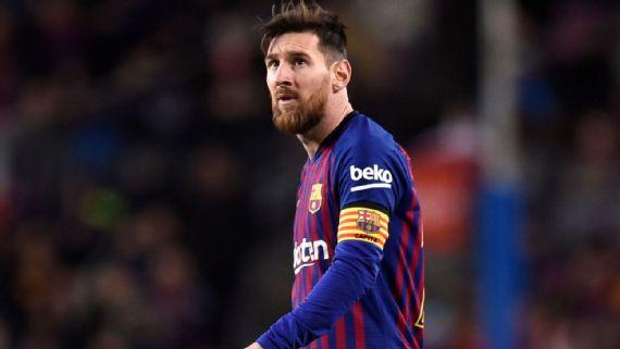 Lionel Messi podría perderse otro clásico ante el Real Madrid