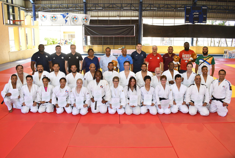 Fedojudo y FIJ capacitan instructores en curso Nivel II
