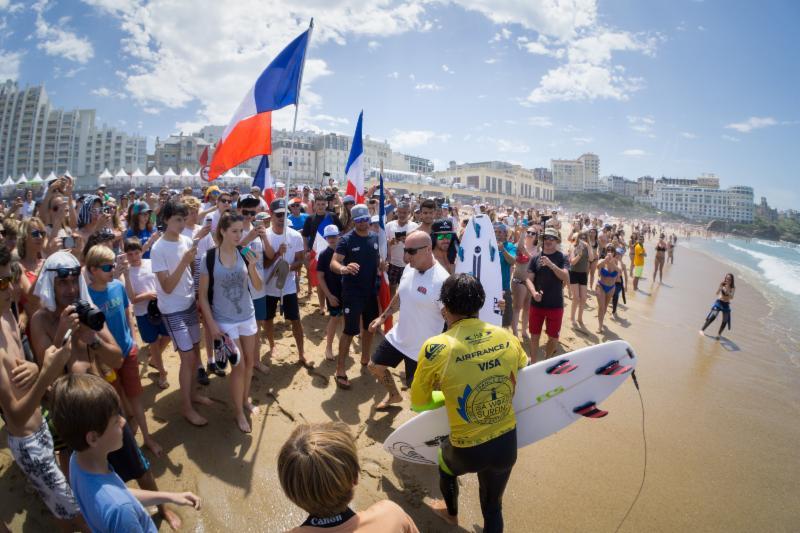 El Surfing, un paso más cerca de los Jugos Olímpicos París 2024