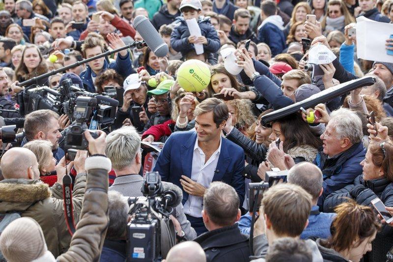 Federer volverá a jugar en Madrid tras dos años de ausencia