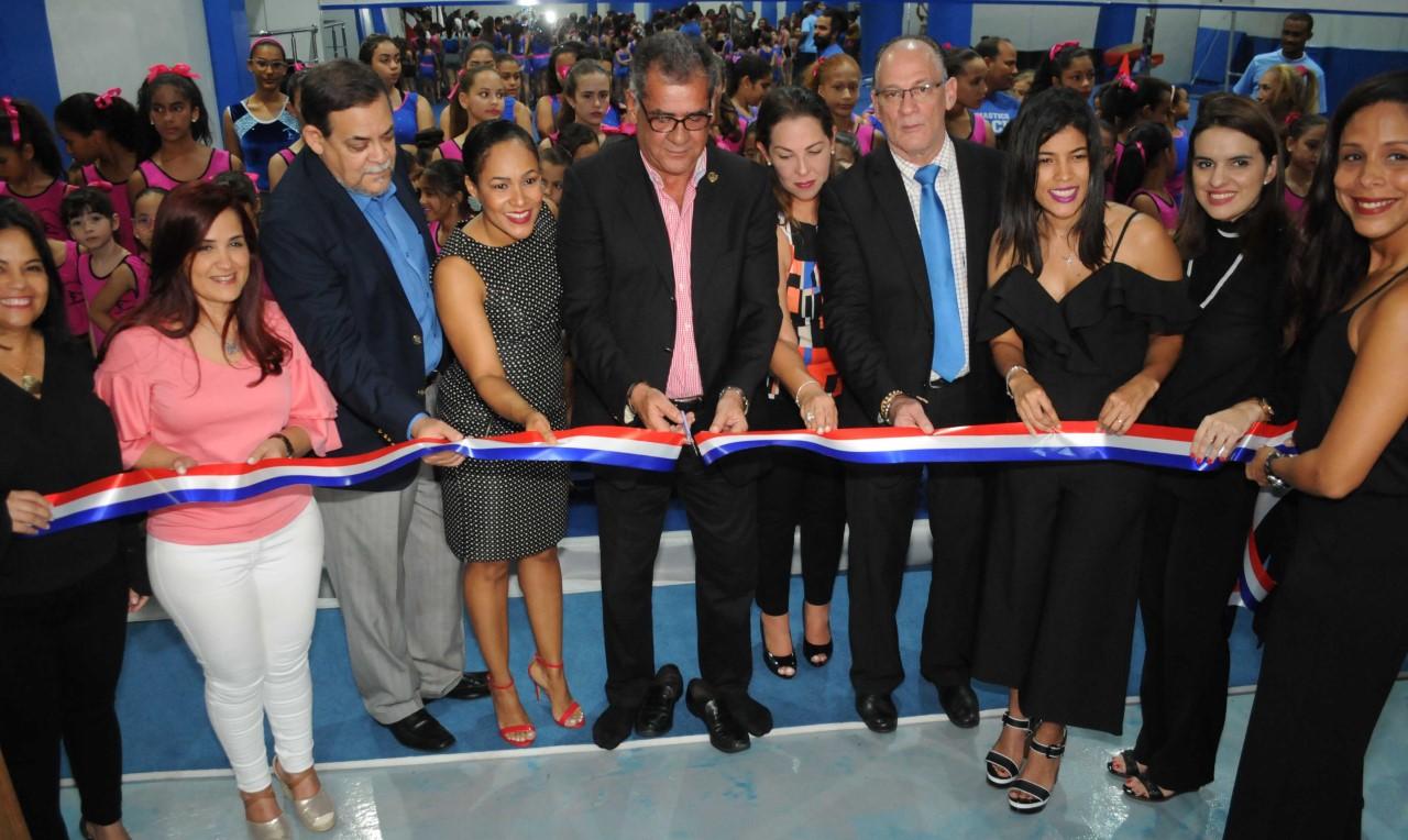 Club Naco inaugura moderno Pabellón de Gimnasia