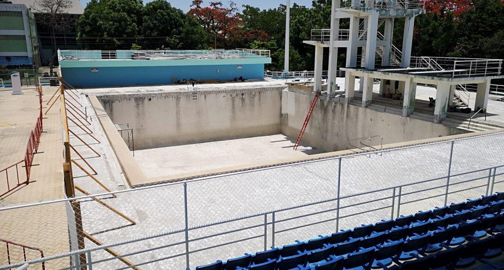 Peligra clasificatorio de natación a Panamericanos por atraso en complejo acuático COJP