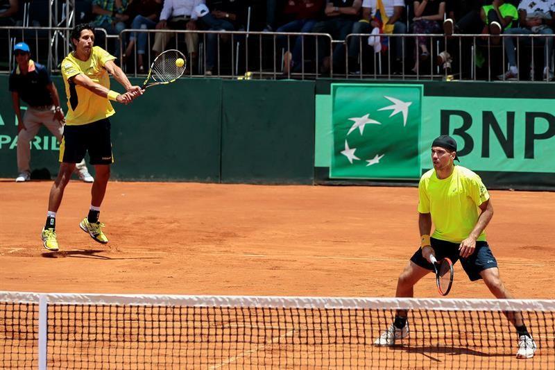 Bélgica logra segundo punto y complica situación de Brasil en la Copa Davis