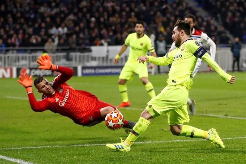 Barcelona se va con las manos vacías en la Champions