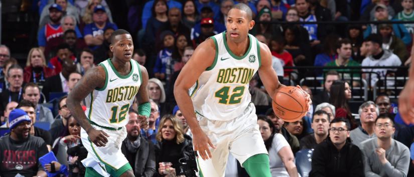 Sin Irving, Celtics y Horford derrotaron a los Sixers