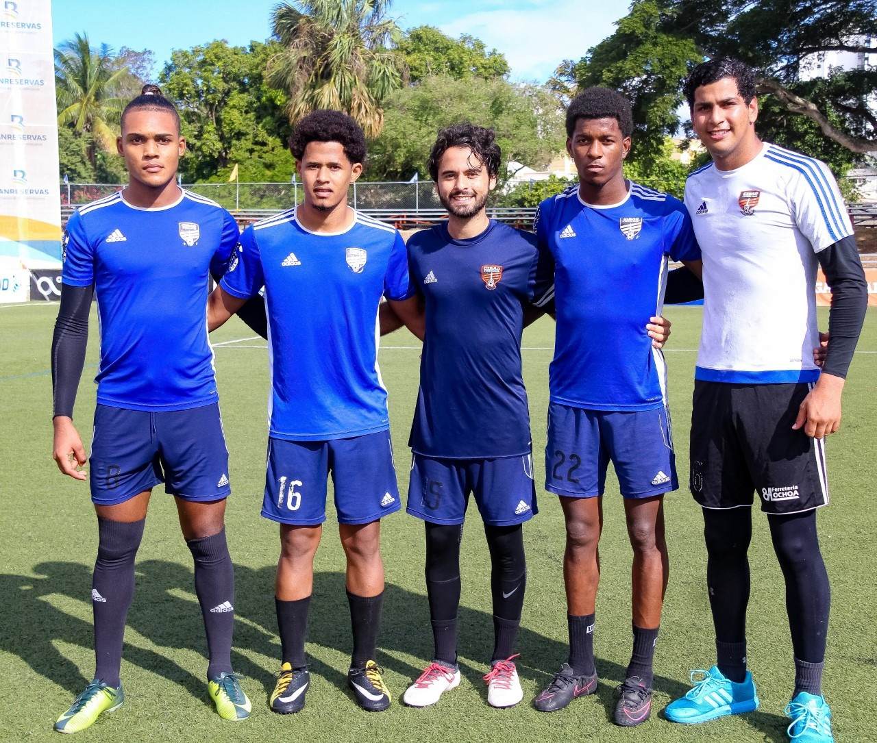Cibao FC asciende cinco jugadores a equipo mayor