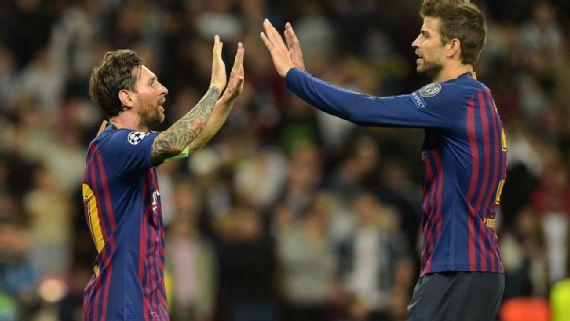 Piqué revela que Messi es su socio como organizador de la Copa Davis