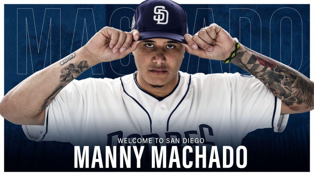 Padres oficializan pacto de 10 años con Manny Machado