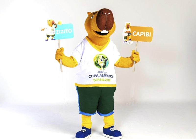 Zizito es el nombre de la mascota de la Copa América