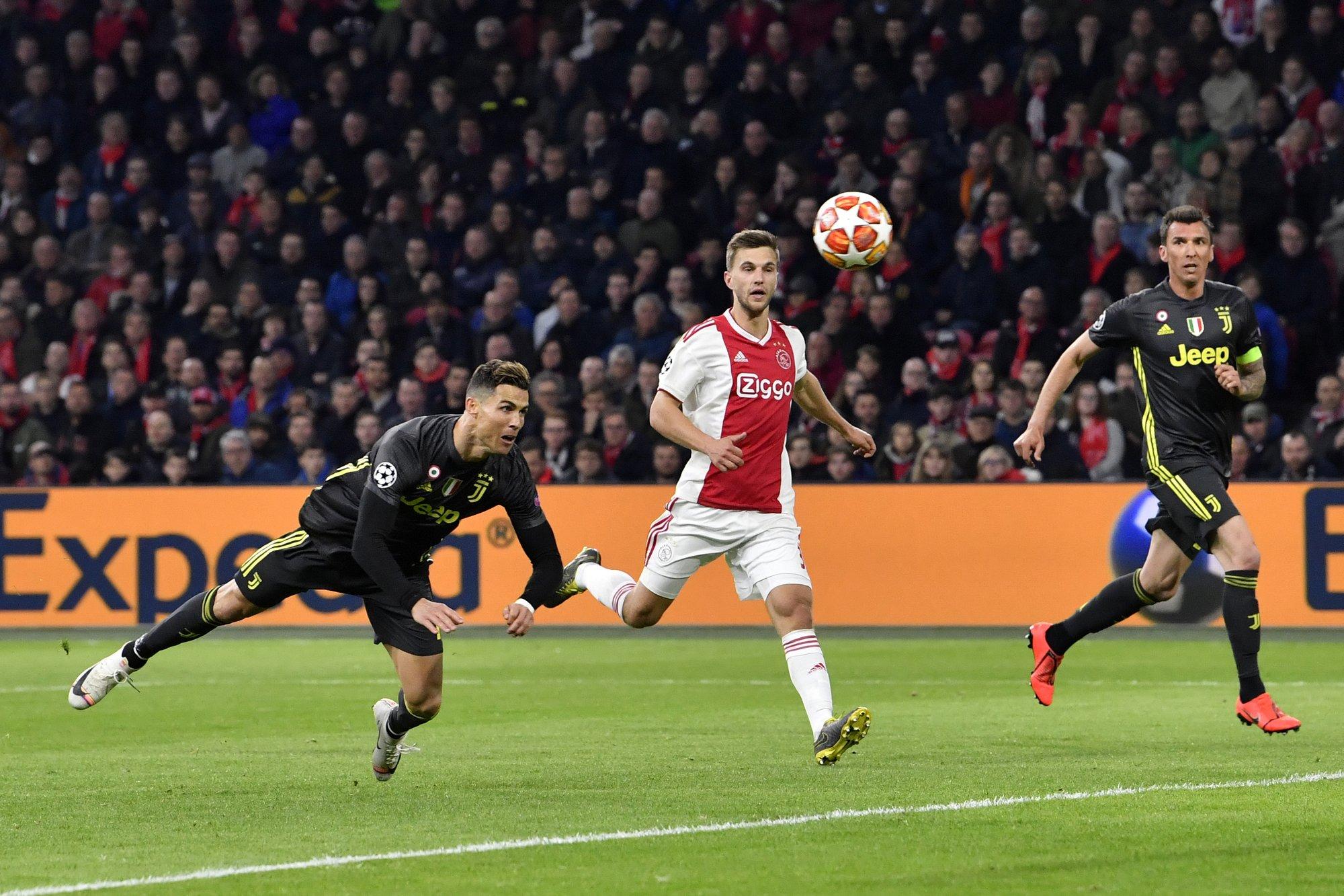 Cristiano marca gol en empate de la Juventus