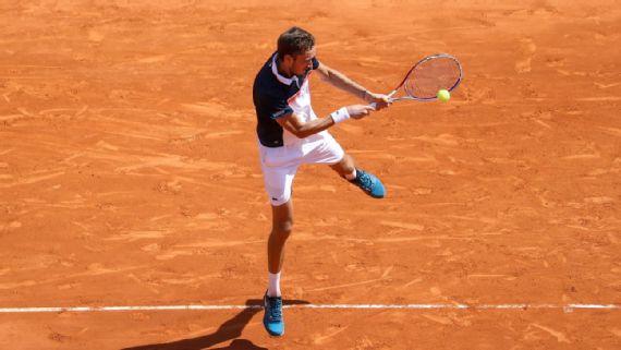 Daniil Medvedev eliminó a Djokovic de Montecarlo