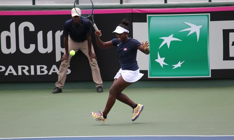 República Dominicana vuelve a caer en la Fed Cup