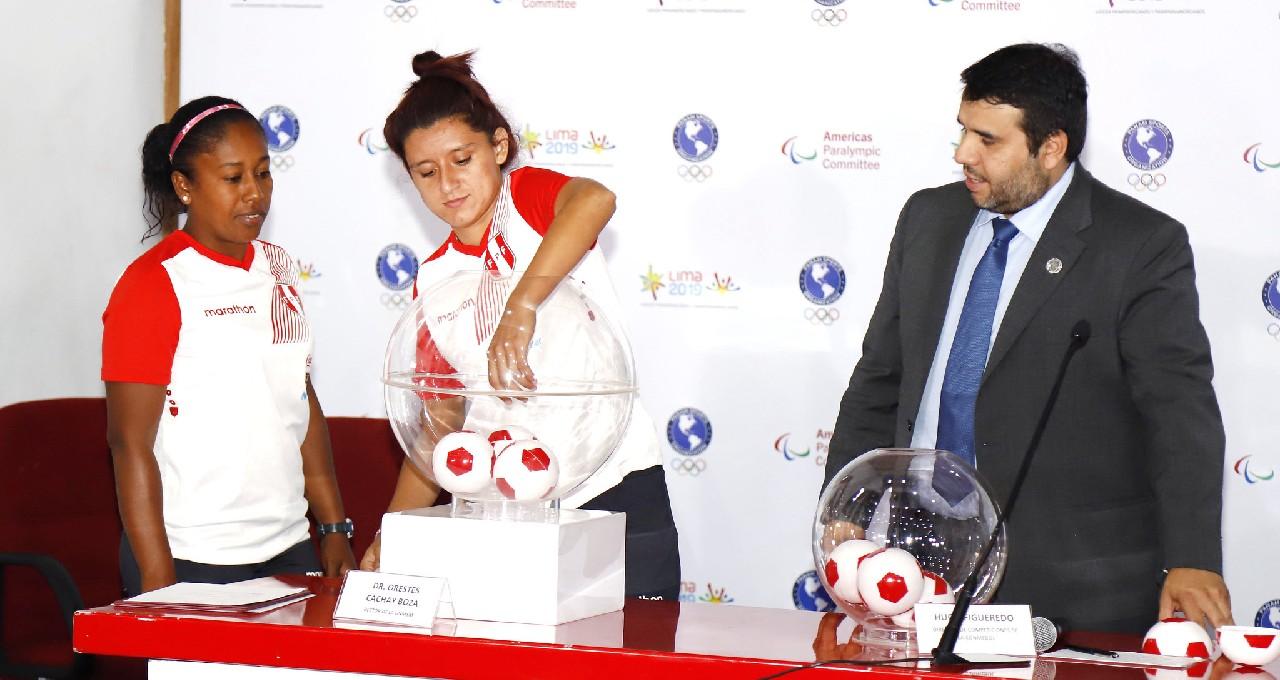 Lima 2019 sorteó los grupos de fútbol para los Panamericanos
