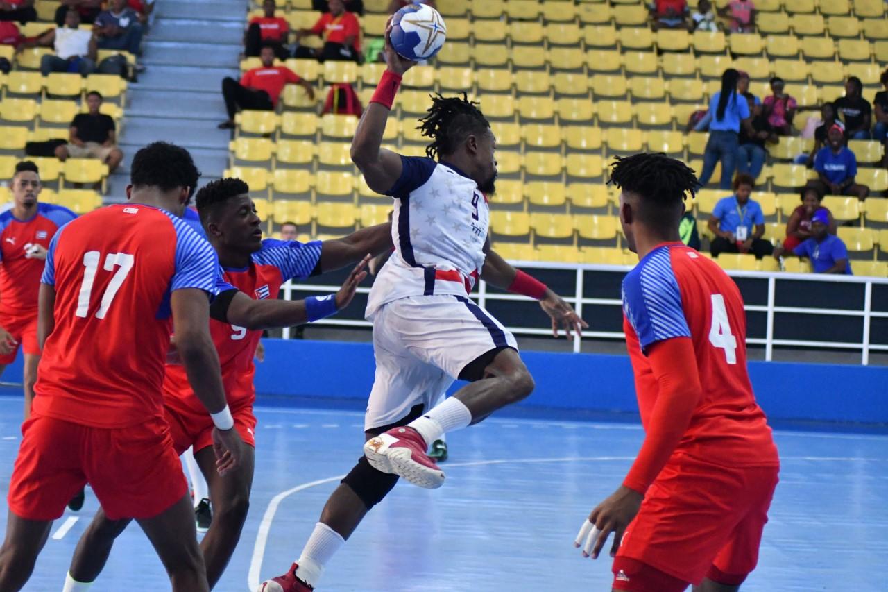 Estados Unidos, Martinica y Puerto Rico, a cuartos balonmano sub-24