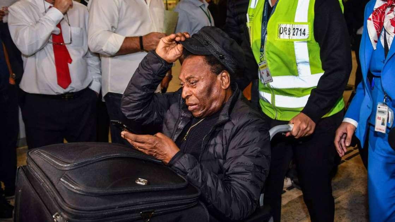 Exfutbolista Pelé ha sido operado con éxito de un cálculo renal