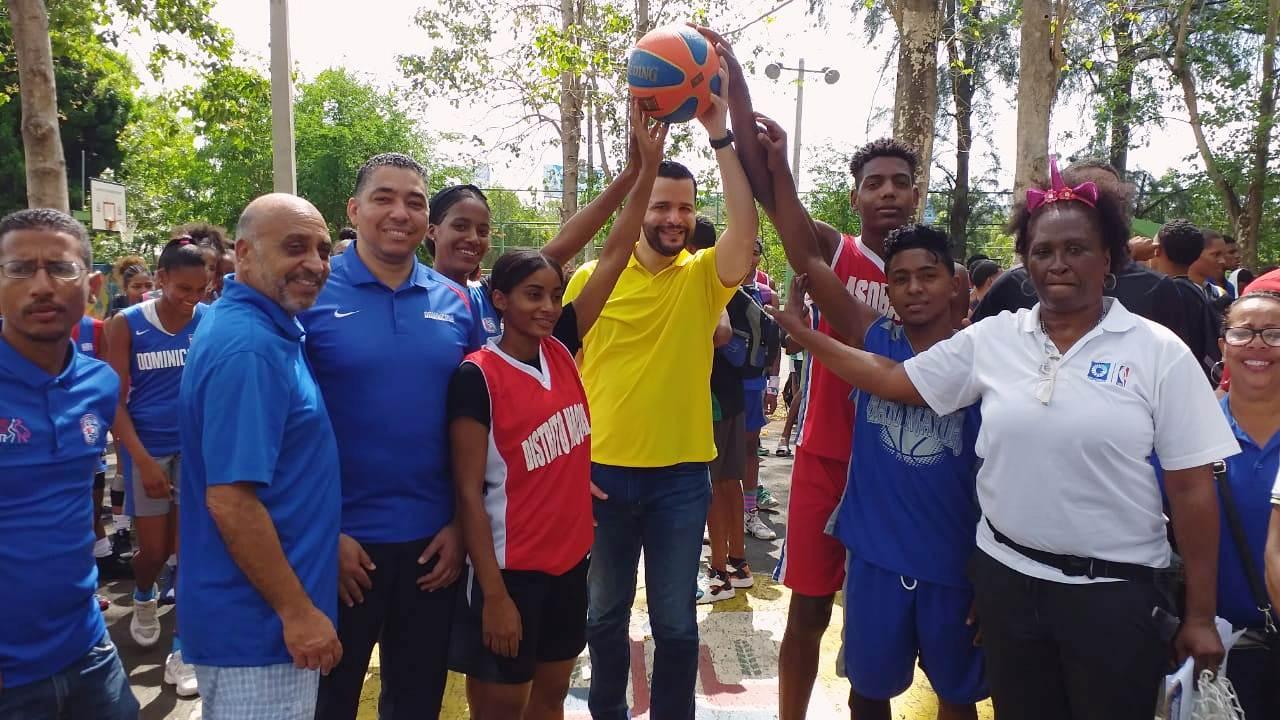 Fedombal inaugura torneo nacional de basket 3x3