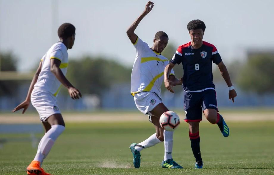 Selección derrota Dominica en el campeonato de fútbol Sub-17