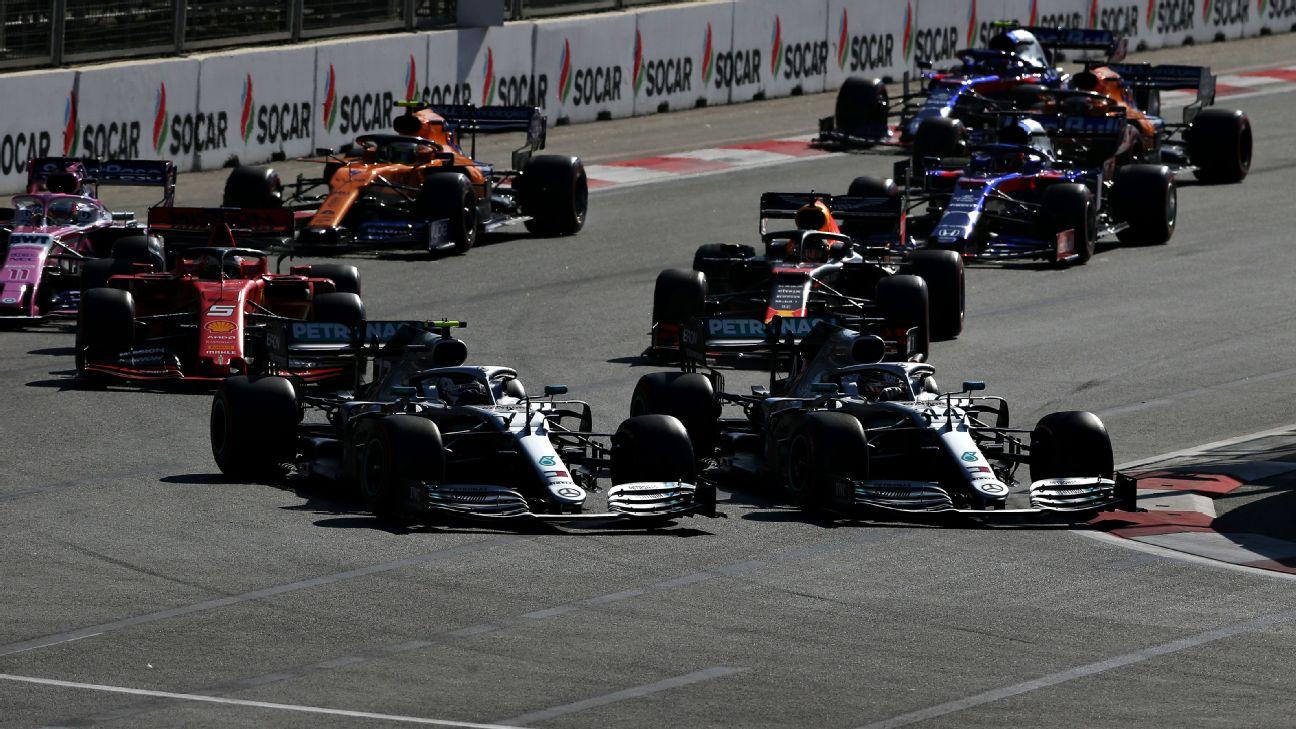 Bottas bate a Hamilton en Azerbaiyán y recupera el liderato en el Mundial de F-1
