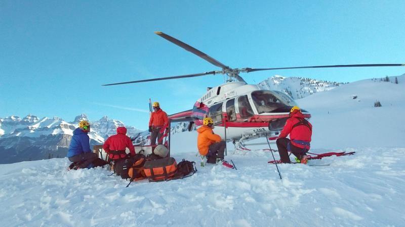 Alpinistas muertos en Canadá habían alcanzado la cima del Howse Peak