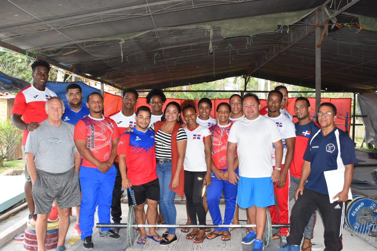 Pesistas RD listos para Campeonato Panamericano Superior Guatemala