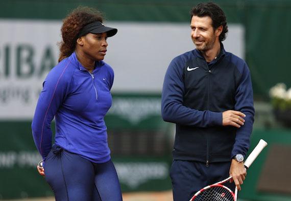 Entrenador de Serena plantea modificaciones para hacer del tenis un deporte más