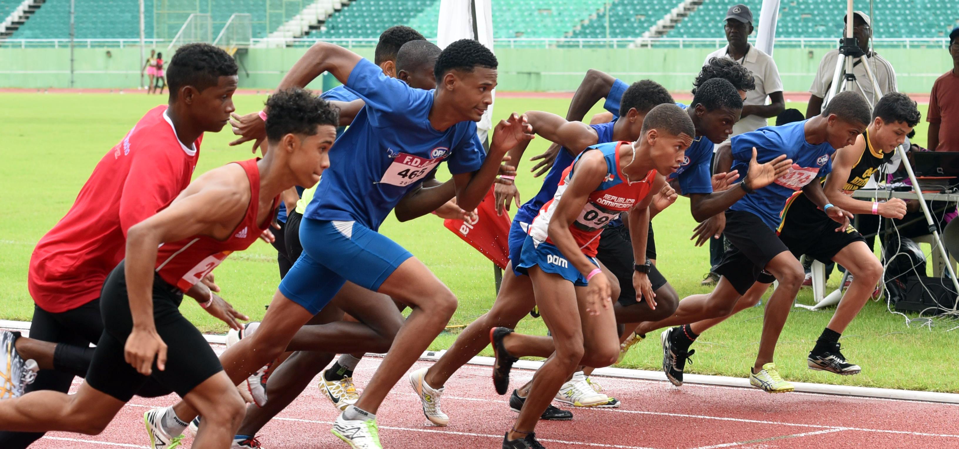 Espaillat, Higüey y el Distrito ganan atletismo infantil