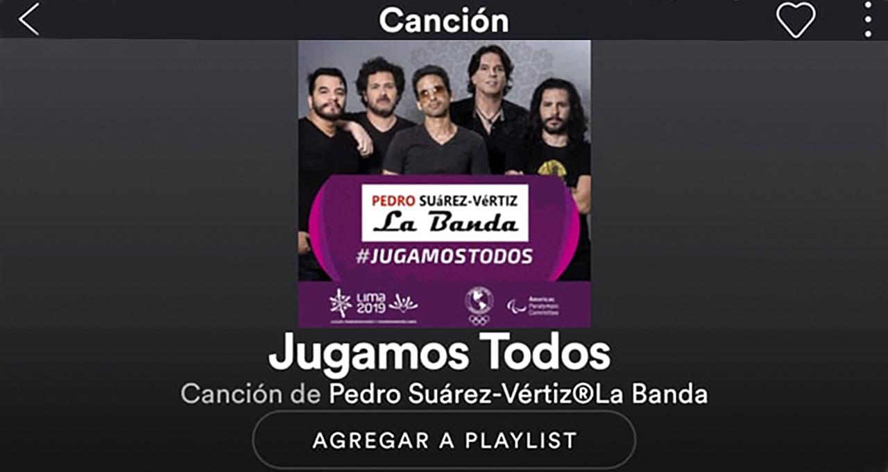 Canción de Lima 2019 ya está disponible en Spotify