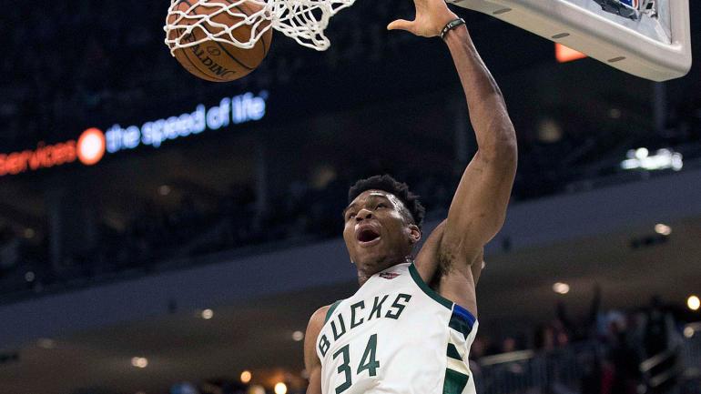 Antetokounmpo anota 41 y Bucks barren a los Pistons en playoffs NBA