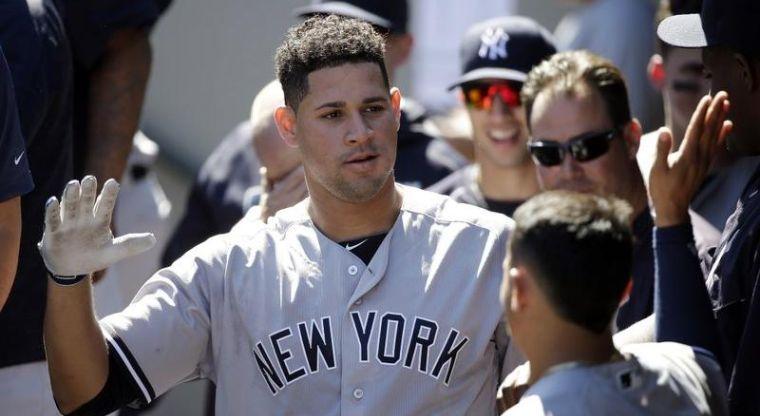 Gary Sánchez, en salud, ha vuelto a tronar con los Yankees