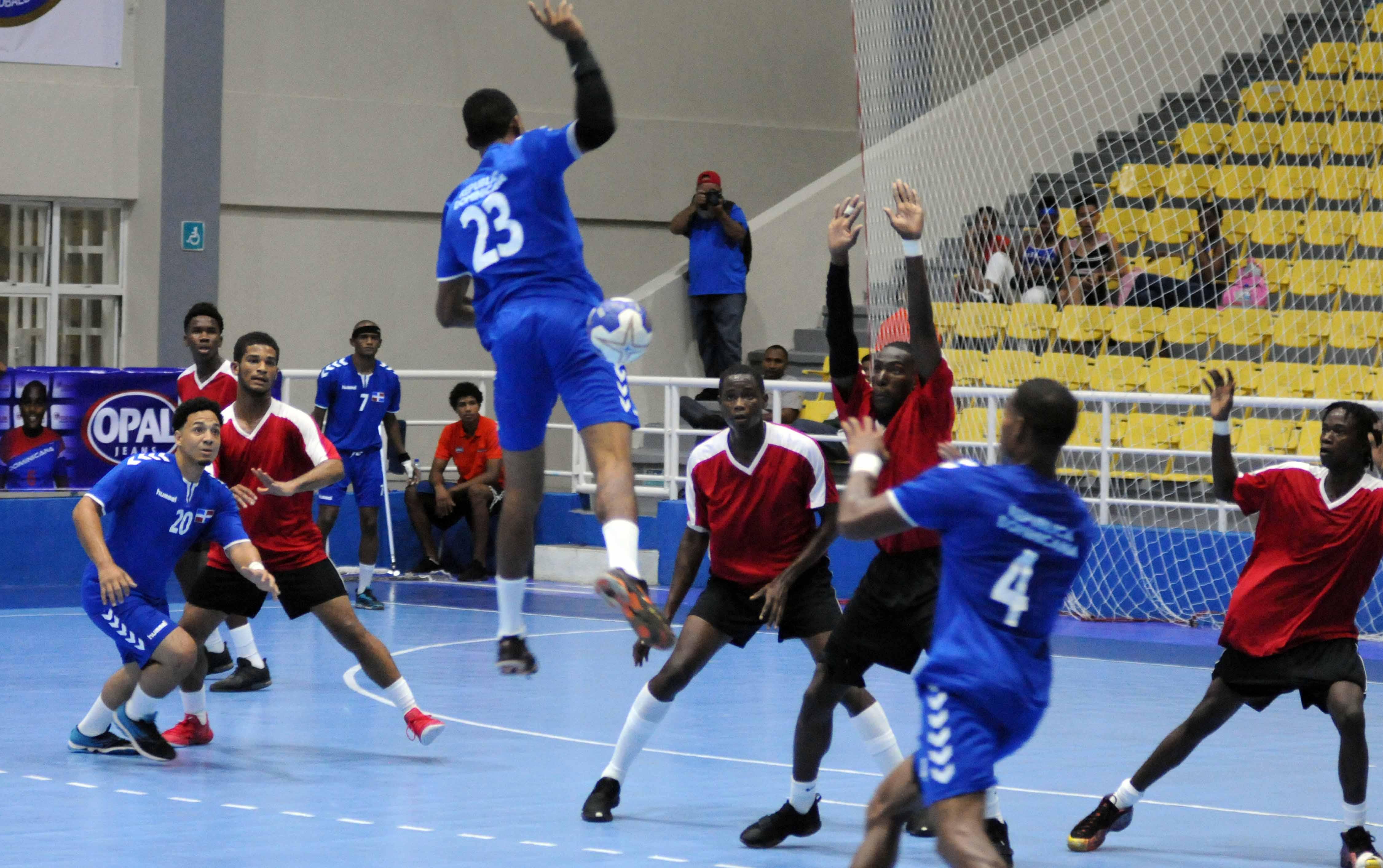 Equipo RD debuta con victoria ante Saint Kitts en torneo balonmano