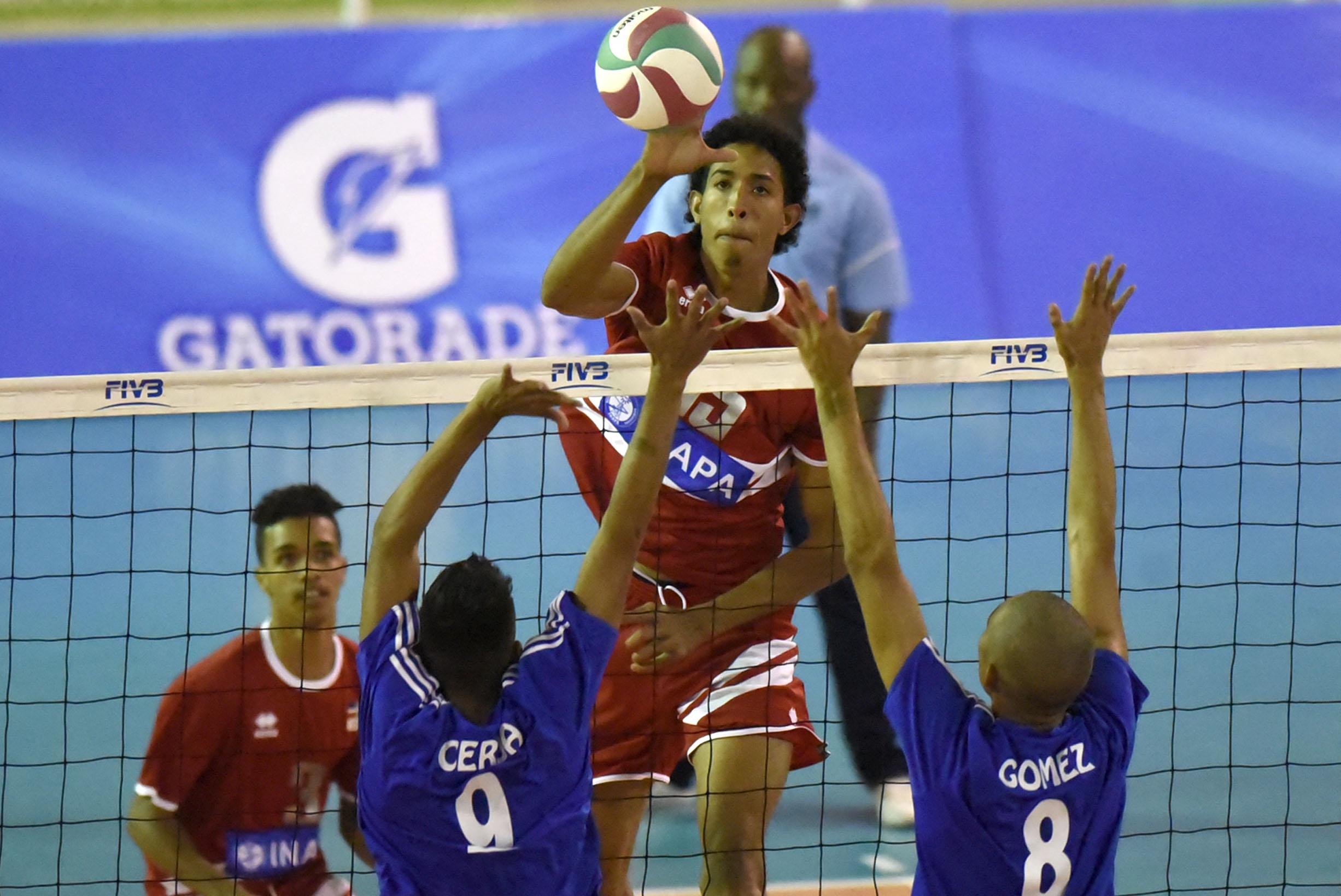 República Dominicana vence a Nicaragua en Panam de Voleibol Sub-19