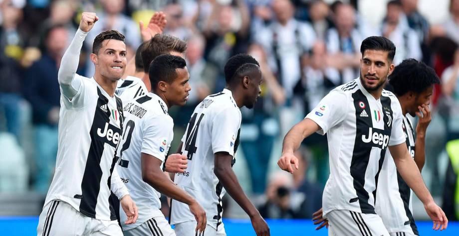 Juventus gana octavo título seguido de la Serie A