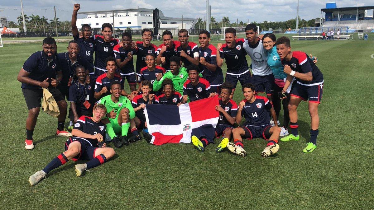 RD avanza a ronda final Campeonato Sub-17 de Concacaf