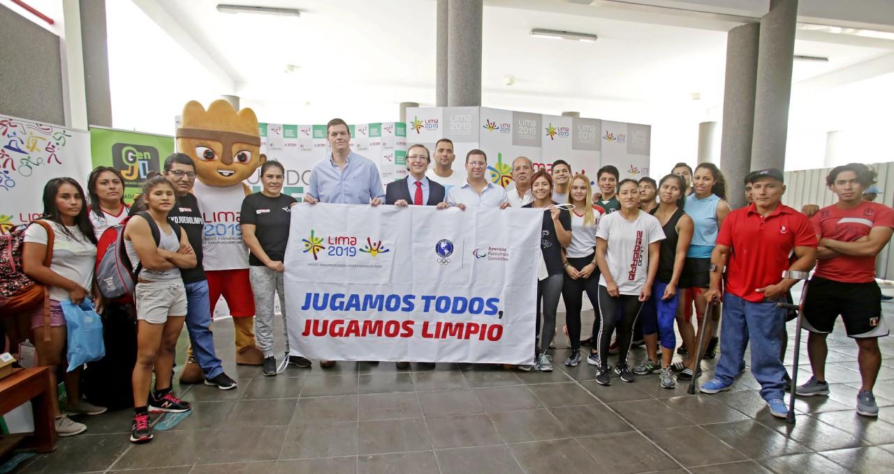 Presentan Stand Educativo Antidopaje que se utilizará en Lima 2019