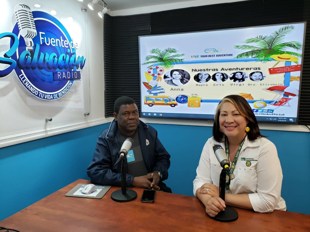 Whyte resalta éxito de la gimnasia en programa radial en Florida
