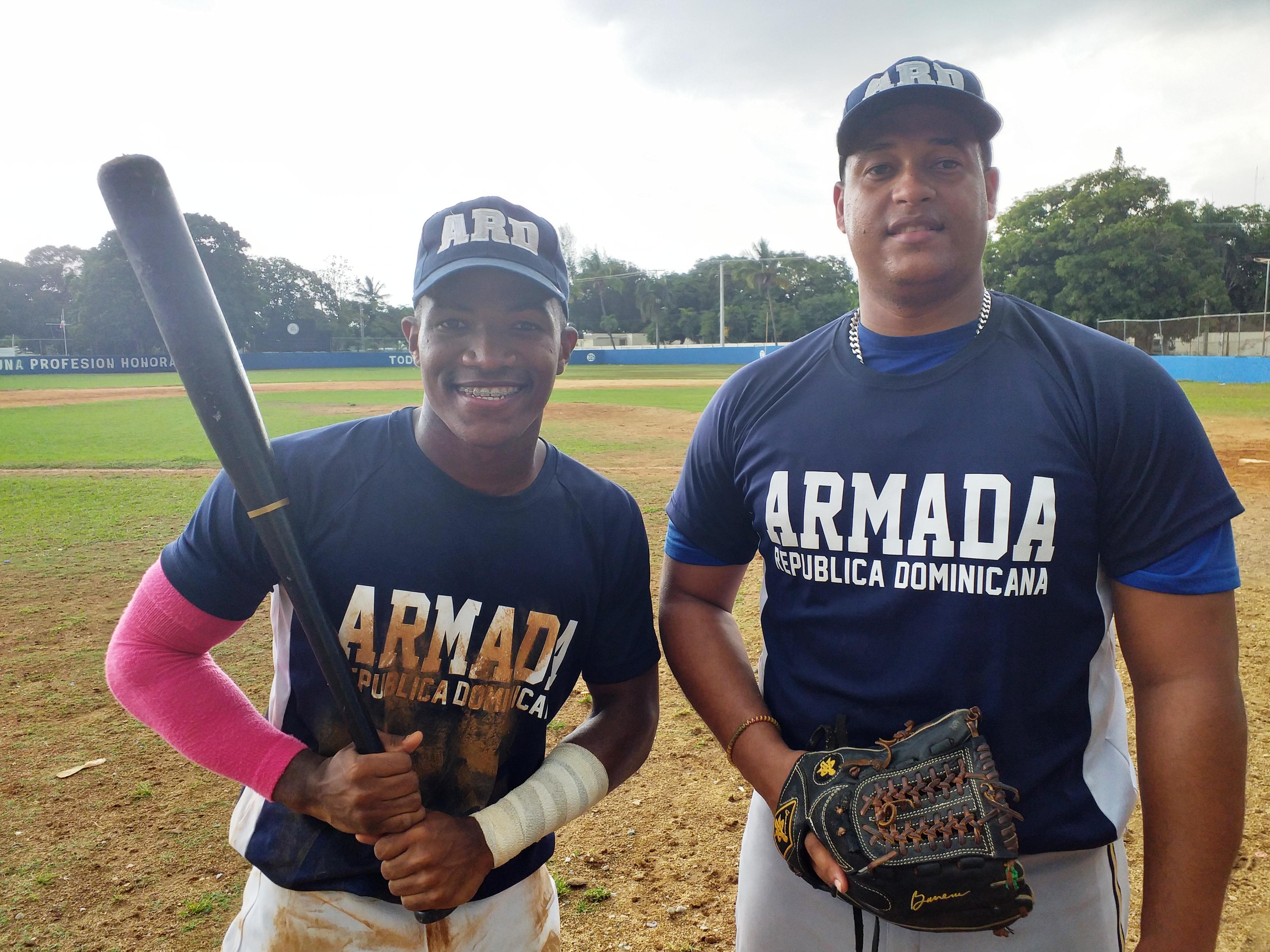Armada supera a la Policía en torneo de béisbol de los Juegos Militares