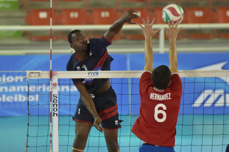 RD viene de atrás y supera a Puerto Rico para avanzar a semifinales Panam de Voleibol Sub-19