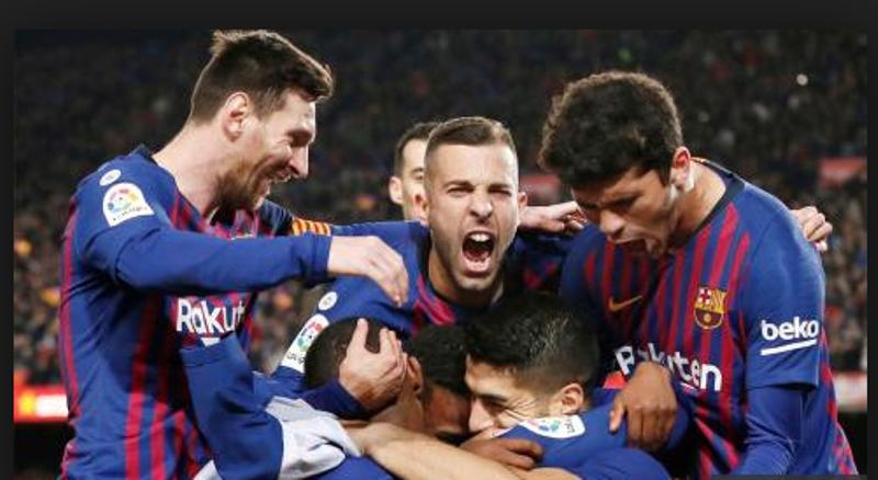 Con goles de Suárez y Messi el Barcelona superó al Atlético