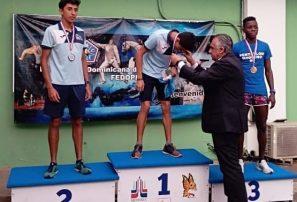 José Ozoria gana bronce en Internacional de Pentatlón Moderno