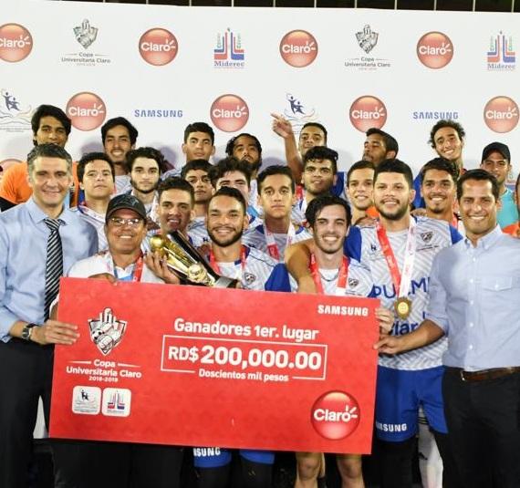 PUCMM se coronó campeón del evento masculino en la Copa Universitaria
