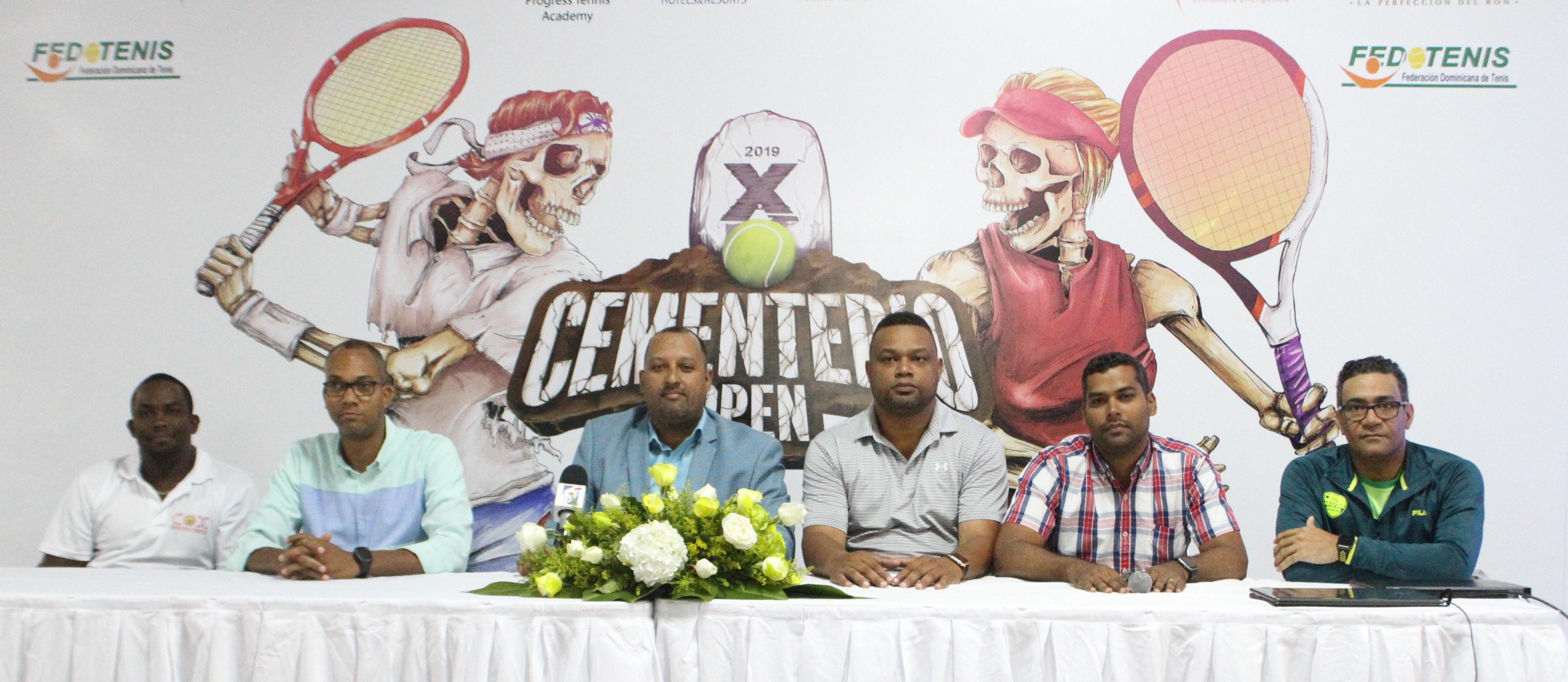 Anuncian décima edición del Cementerio Open de tenis