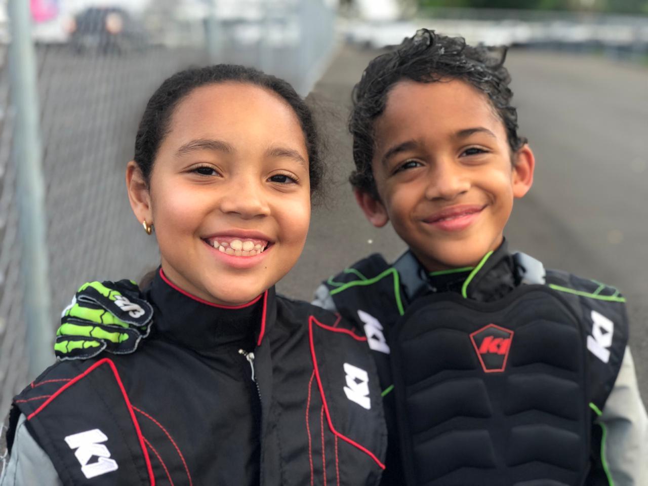 Hermanos Bonnet listos para Primera Puntuable del Campeonato de Kartismo